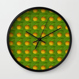 Lemon Lime All The Time Wall Clock