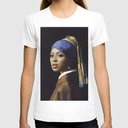 Bey with a Pearl Earring T-shirt