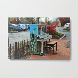 Dropping by for a Ditty in Dublin- horizontal Metal Print