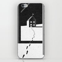 kafka iPhone & iPod Skins featuring Walking Home/Deposit NY by N / A