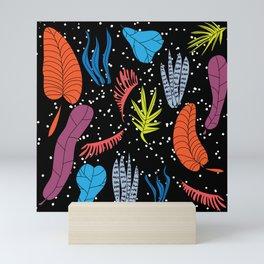 Leaf me alone Mini Art Print