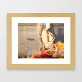 THE SOUL WITHOUT (The Dragon Collection) Framed Art Print
