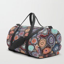 Colorful agates Duffle Bag