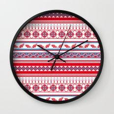 Eastern Lines Wall Clock