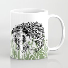 Hedgehogs print Coffee Mug