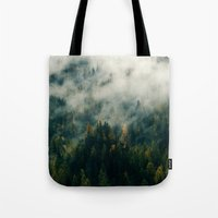 fog Tote Bags featuring Fog by EclipseLio