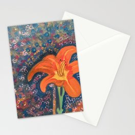 Song Of The Tiger Lily Stationery Cards