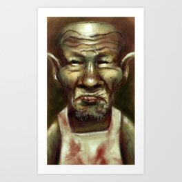 Butcher Goblin Art Print