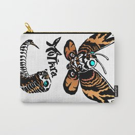 Mothra Kaiju Print Carry-All Pouch