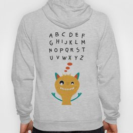 Sweet monster and alphabet Hoody