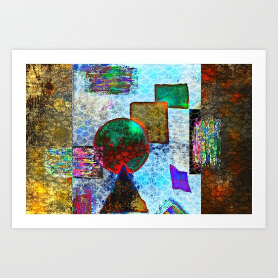 Mix it up collection 4 Art Print