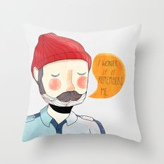 I Wonder If It Remembers Me Throw Pillow