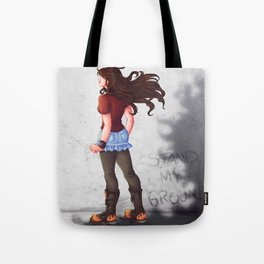 Stand My Ground Tote Bag