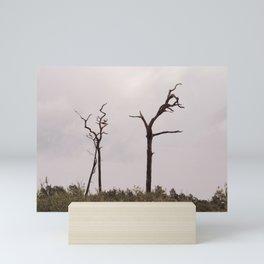 Dead trees Mini Art Print