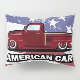 American car Pillow Sham