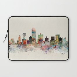 dallas skyline Laptop Sleeve