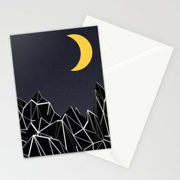 The Moon 2 Stationery Cards