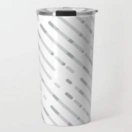 Gray Abstract geometric background #society6 #decor #buyart #artprint Travel Mug