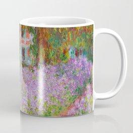 "Claude Monet ""The Artist's Garden at Giverny"" Coffee Mug"