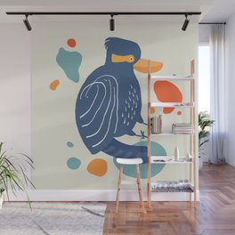 Quirky Laughing Kookaburra Wall Mural