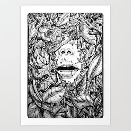Shallow Art Print