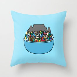City Bowl Throw Pillow