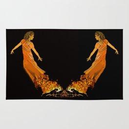 Fire Dancer - Muertos Series Rug
