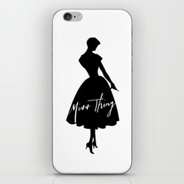 Miss Thing iPhone Skin