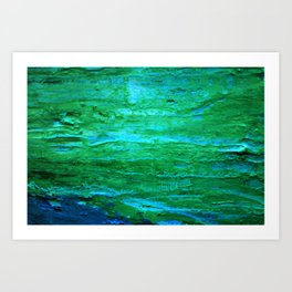 Abstract Oil 6 Art Print