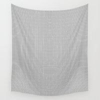 grid Wall Tapestries featuring Grid by Alisa Joy