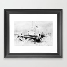 Pirates of the Baltic-sea Framed Art Print