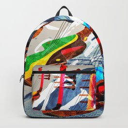 Relax with Afrobeats music Backpack