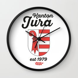 Canton of Jura Wall Clock