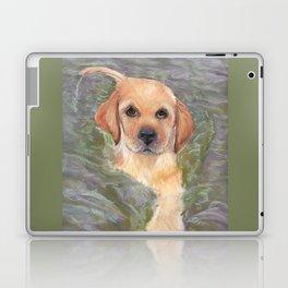 Yellow Lab Puppy Laptop & iPad Skin
