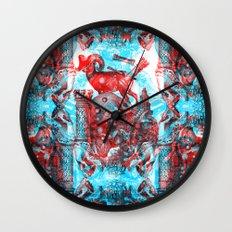 WICCA Wall Clock