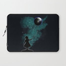 The Girl That Holds The World Laptop Sleeve