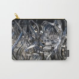 Wisps Glass Sculpture Carry-All Pouch