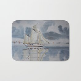 Quiet sailing Bath Mat