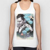 tom hiddleston Tank Tops featuring Tom Hiddleston by Yan Ramirez