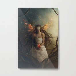 Celestial Prayer Metal Print