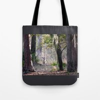 fairytale Tote Bags featuring Fairytale by Sara Evans