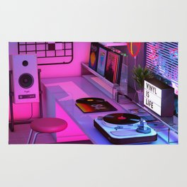Vinyl is Life Rug