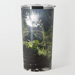 Waimea Valley Oahu Hawaii USA Travel Mug