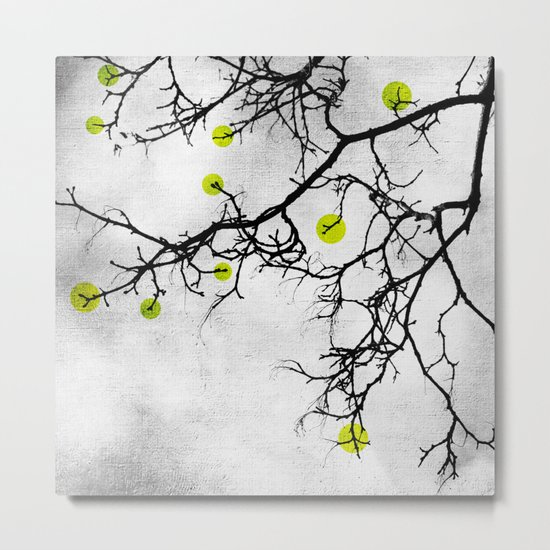 Wintertree Abstract Metal Print