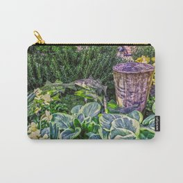 Greens and Yellows Garden Carry-All Pouch