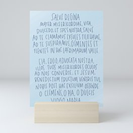 Salve Regina  Mini Art Print