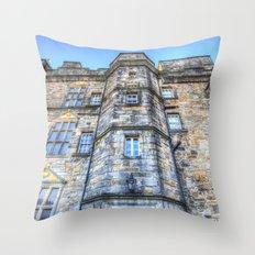 Edinburgh Castle Scotland Throw Pillow