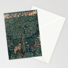 William Morris Greenery Tapestry Stationery Cards