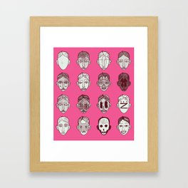 Kindergarten Framed Art Print