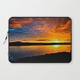 Bolsa Chica Wetlands Sunrise    1/10/16 Laptop Sleeve